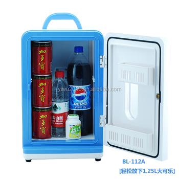 12 L Portable Mini Fridge Cooler And Warmer Auto Car Boat Home Office AC U0026  DC