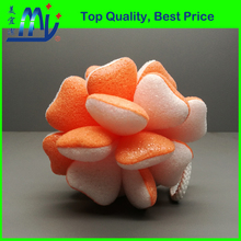 New Design 3D Sponge Flower Face Washing Puffs for Skin Massage and Cleaning