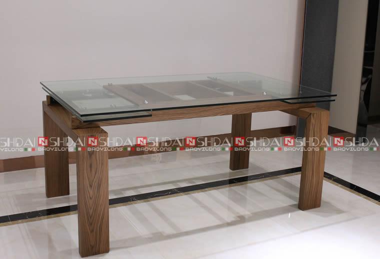 6 Persoons Tafel : 6 persoons eettafel gehard glas arabische stijl eettafel buy