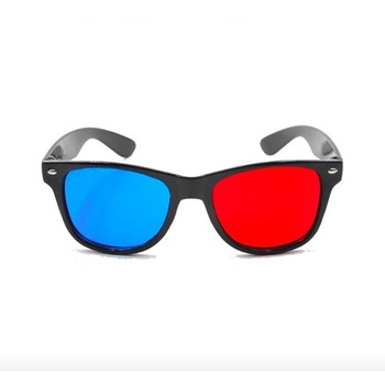 Factory Price Universal Type 3d Glasses Red Blue Cyan Anaglyph 3D Glasses