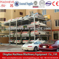 Multi-Level metal garage car lift storage system