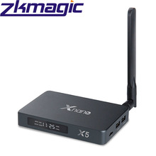 Realtek Xnano RTD1295 X5 Android 6.0 TV BOX con OpenWRT (NAS) 1 GB/8 GB AC Supporto <span class=keywords><strong>PVR</strong></span> USB3.0