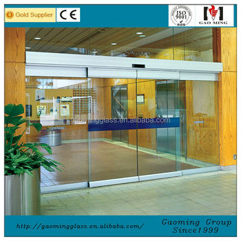 Customized Size Automatic Sliding Glass Door Buy Commercial