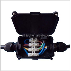 Black 923 294 series waterproof outdoor electrical junction box