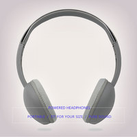 Good sound wired headphones retractable 3.5mm plug headset over ear head phone