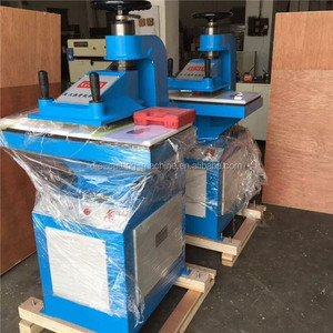 leather cutting punching processing machine