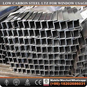 Z window Profile MS ERW LTZ Pipes for window profile