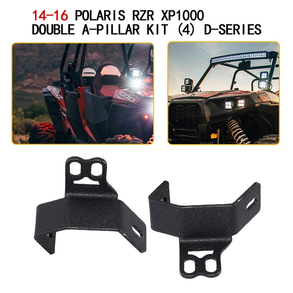 Cheap Kc Light Brackets Find Deals On Line At Wiring Harness Get Quotations 3x3 Inch Led Offroad Lower Bumper Double A Pillar Mount Mounting Fog