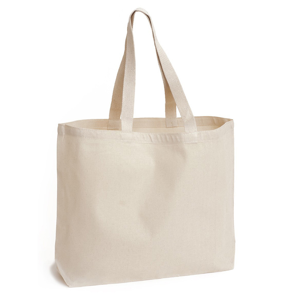 Plain White 10oz Cotton Canvas Tote Bag - Buy Cotton Canvas Tote ...