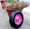 "16""*4.00-8 pneumatic/inflatble rubber wheel"
