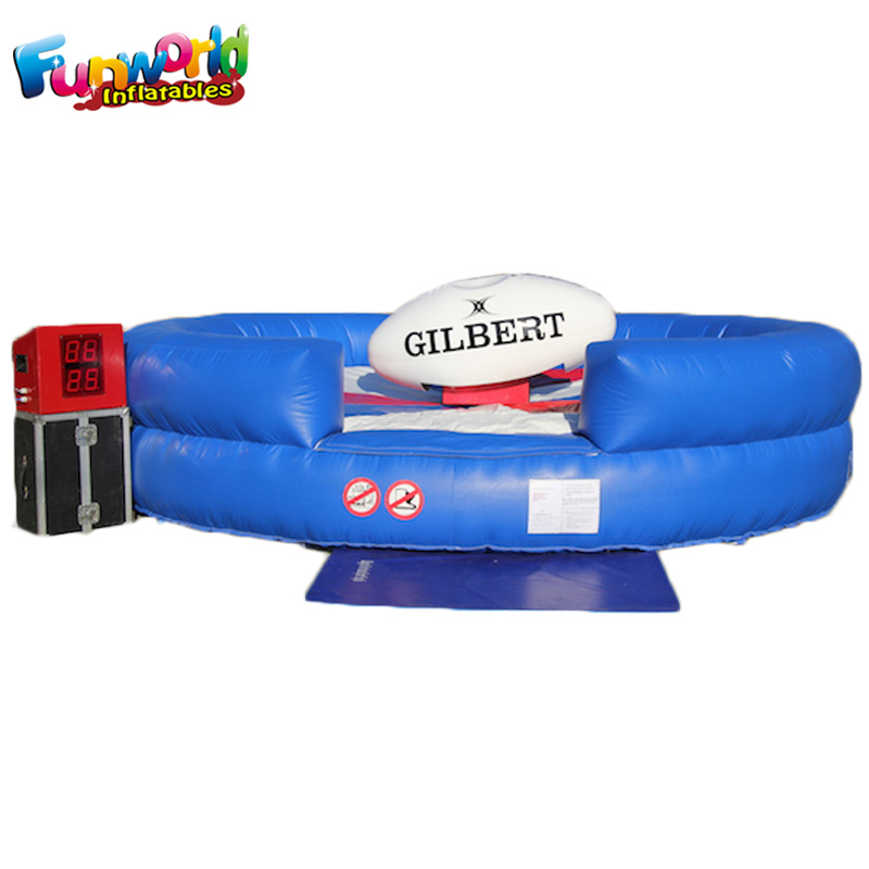 Challenging Inflatable rodeo rugby bouncer rugby inflatables