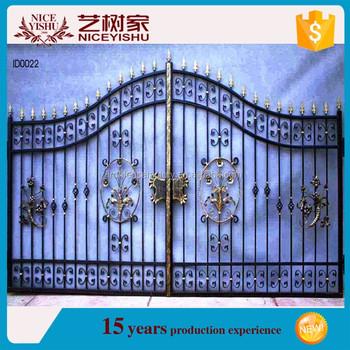 Modern Philippines Gates And Fences/iron Main Gate Designs/powder ...