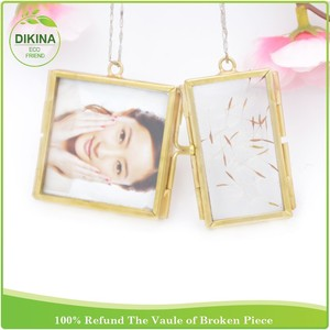 ** Mini Copper Finish Photo Picture Frames, Hanging Metal & Solid Brass Photo Frames New** wedding decor one dollar photo frames