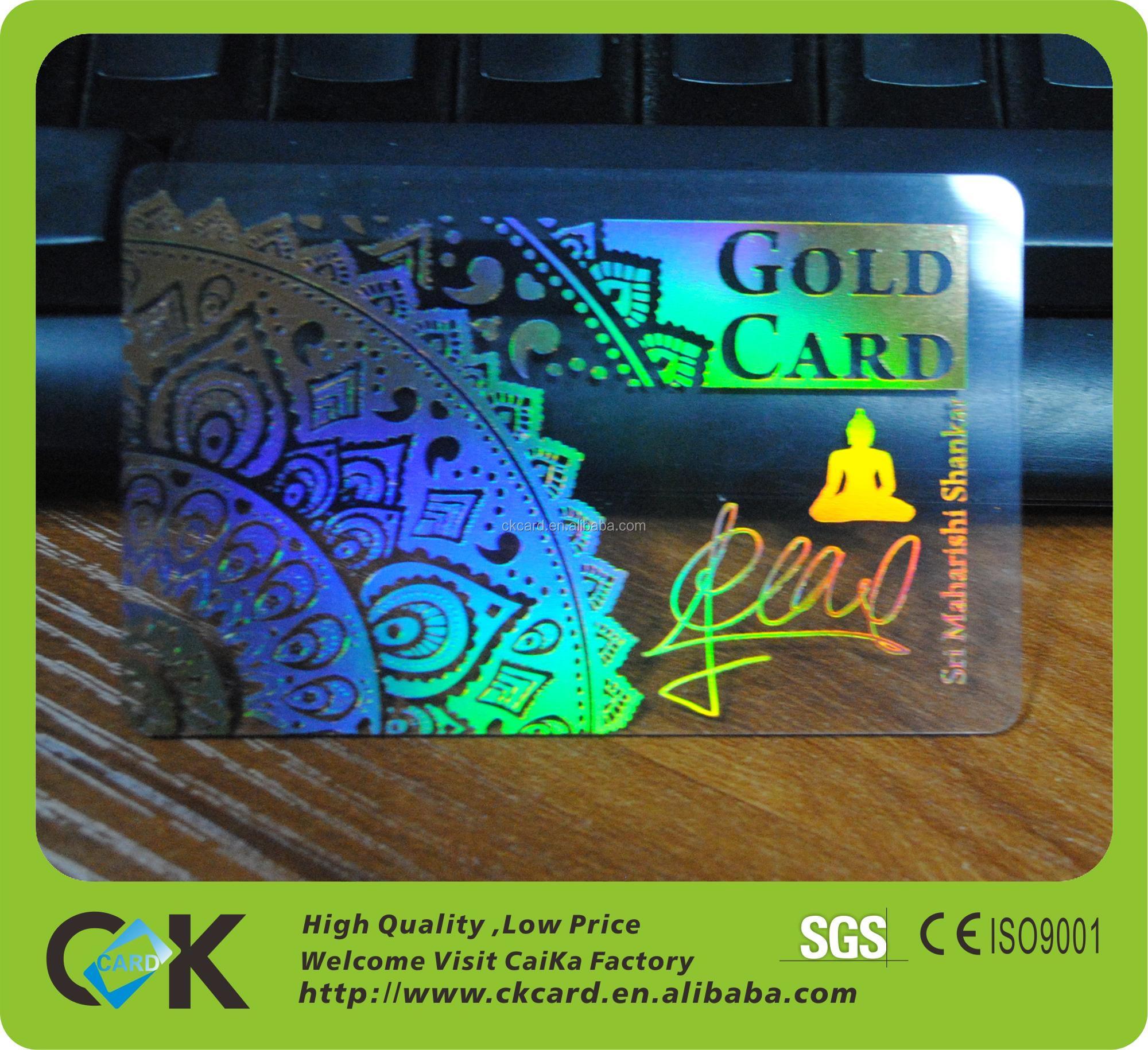 Pvc Plastic Transpa Business Cards