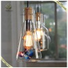 Newest Hanging Light Glass Bottle Vintage Pendant light Coffee Shop Decorative