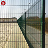 Euro Market CE Decorative Folding Garden Fence Panel for Construction Security Fence