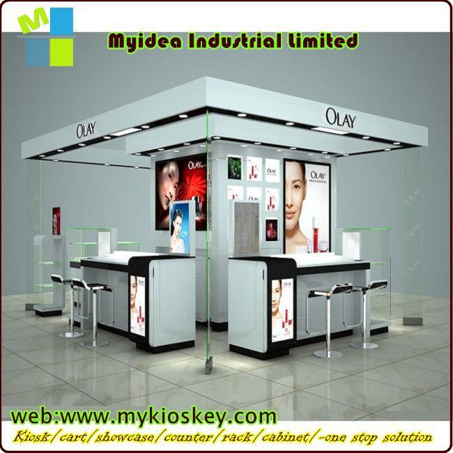 Cosmetic Exhibition Stand Design : Trade show cosmetic exhibition wood stand design booth