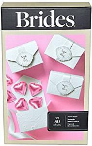 Brides (TM) by Gartner Studios, Wedding Favor Box Kit, White, Pack of 50