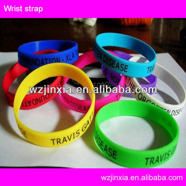 Personalized Silicone Bracelet,colorful silicone arm bands