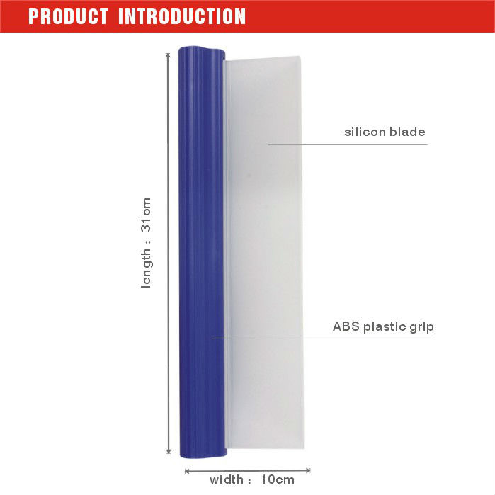 Water Wiper Blade T Shaped Silicon Window Squeegee