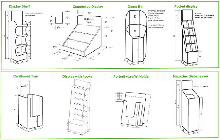 how to make supermarket racks