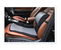 Automotive Cooling Lumbar Pillow and Seat Cushion Set