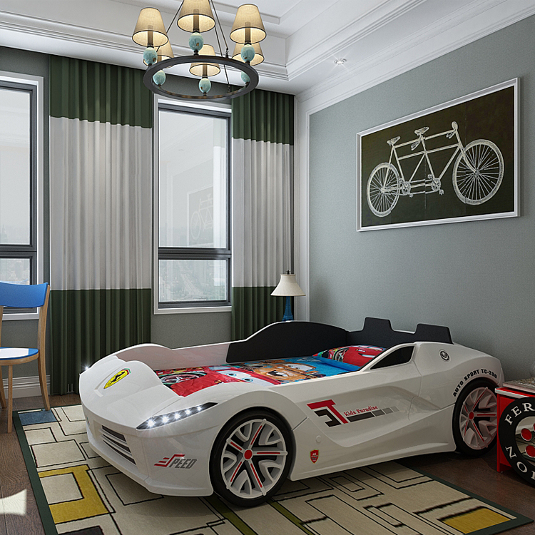 Race Car Bed For Toddler Boy Funiture For Children Room Buy Car Bed Red Car Bed With Mattress Kids Car Bed Set Product On Alibaba Com