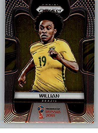 PANINI WORLD CUP 2018 PRIZM FULL TEAM SET ALL CARDS PICTURED BRAZIL