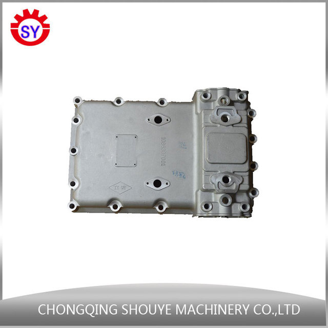 Heavy duty truck spare parts aluminium gear box cover for sale