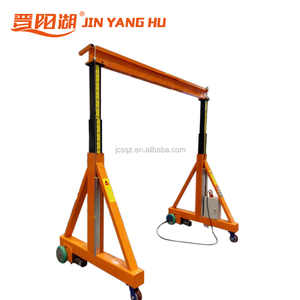 mini indoor workshop gantry crane,used 1ton 2ton 3ton 5ton mobiles gantry crane for sale