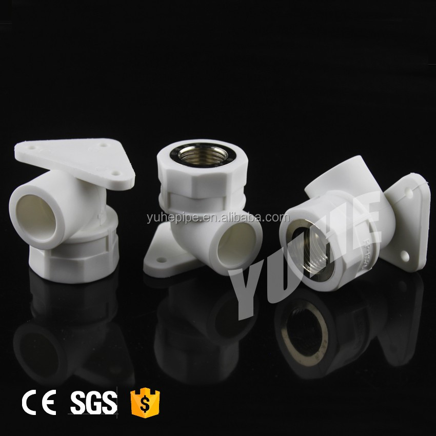 PP-R pipe fitting 90 degree female elbow with seat