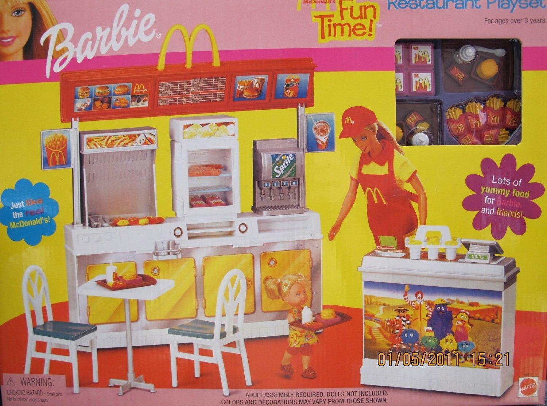 Barbie Dream House Furniture U0026 Accessory Set (1996)