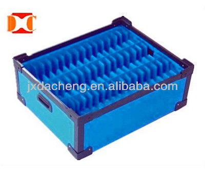 color pp corrugated box
