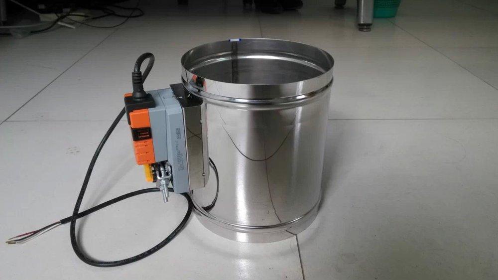 70 degree hvac automatic fire damper buy fire damper for Motorized smoke fire damper
