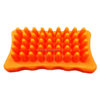 Cat and Dog Rubber Dog Grooming Comb