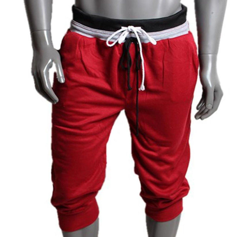Jotebriyo Mens Drawstring Casual Sport Elastic Waist Ankle Camo Jogger Pants Trousers