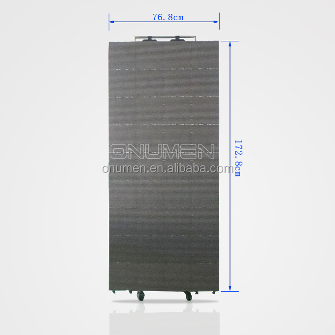 Portable Led Screens : Onumen flexible and portable led display screen video