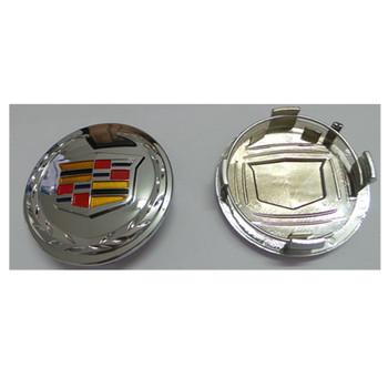 Best Chrome Car Logo Cadillac Wheel Center Caps Buy Wheel Center
