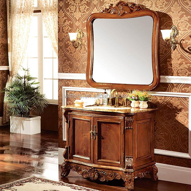 Antique fine main victorienne vanit salle de bain for Meuble salle de bain qualite