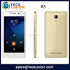A5 5.0inch china low price telephone mobile ultra slim android smart phone