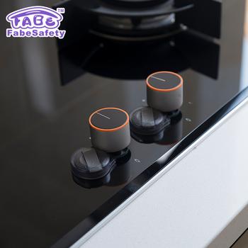 Dapur Kompor Meliputi Perlindungan Bayi Keselamatan Oven Gas Tombol Kunci Untuk Anak Proofing