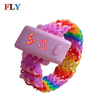 DIY LED loom band watch, View DIY LED loom band watch, OEM Product Details  from Fly Electronic Company Ltd  on Alibaba com