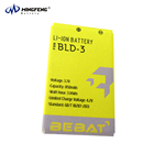 High Quality BLD-3 phone Battery Replacement for Nokia 2100 3200 3300 I6260 6220 6610 6610i 7210 7250
