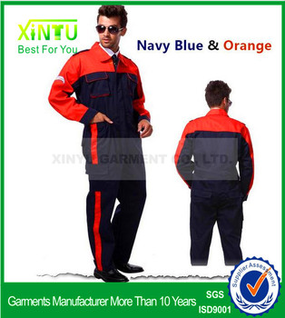 2017 Fashion Worker Clothing Factorymakeing Uniforms Safety Mens Workwear Working Clothes Big
