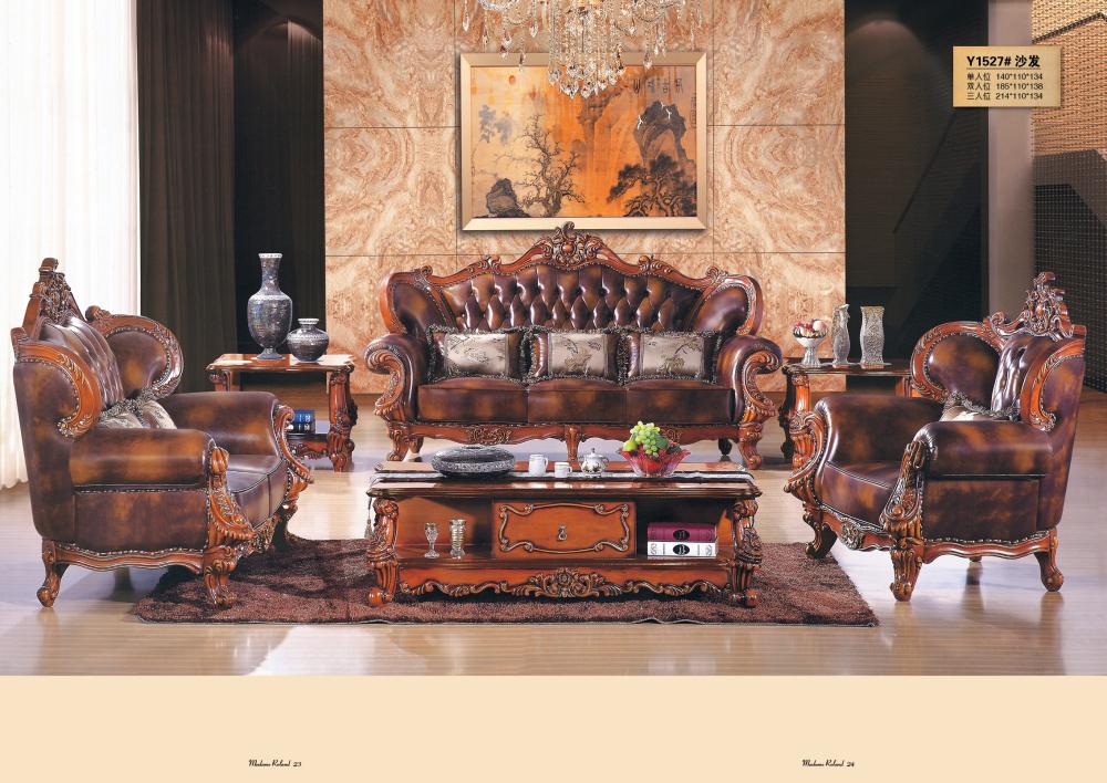 Chesterfield Corner Sofa Set Living Room Royal Furniture Antique