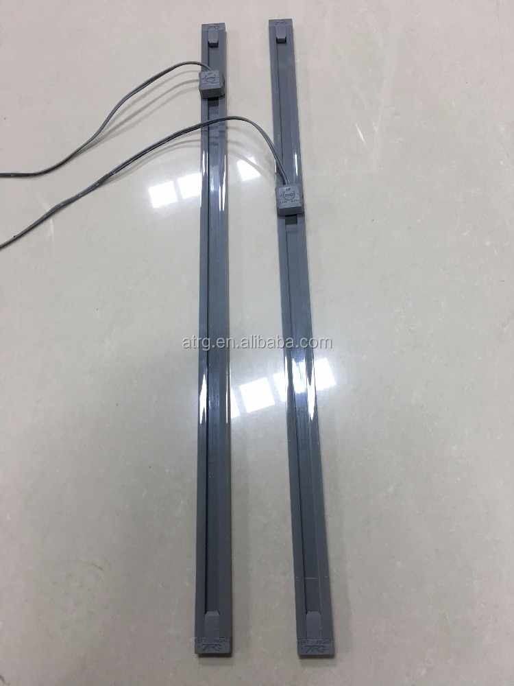 Patented design 2 wires power track power rail for LED strip light