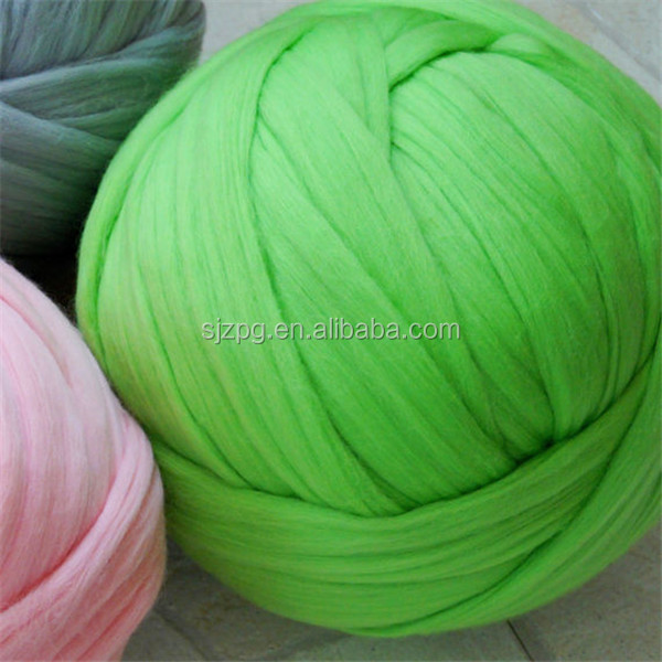 23 microns Chunky Wool Yarn for Arm Knitting