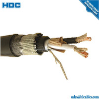Remote control CERT cables in quads 6/10 110 V DC - 80 V AC Polyethylene insulation Overall Screen