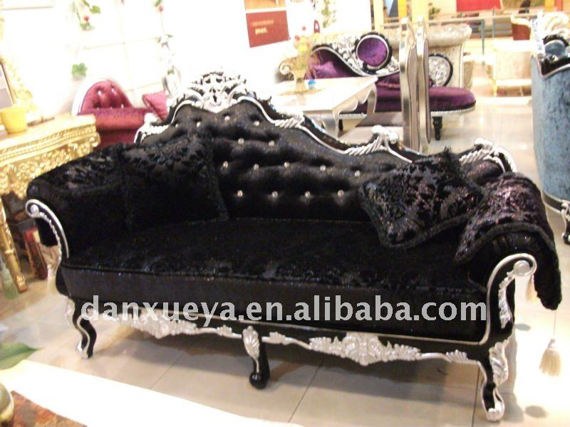 Clical Chaise Lounge Living Room Sofa Bed Suite 825
