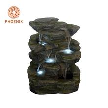 Delightful LED Licht Dekoration Mini Indoor Brunnen Wasserfall